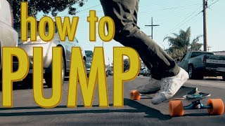 HOW TO PUMP YOUR LONGBOARD | LoadedTV S2-E2