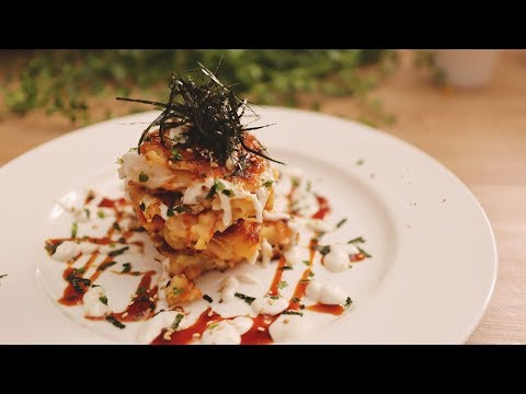 Vegan Japanese Savory Pancake – Okonomiyaki: with macaroni? Will it be good?🤔
