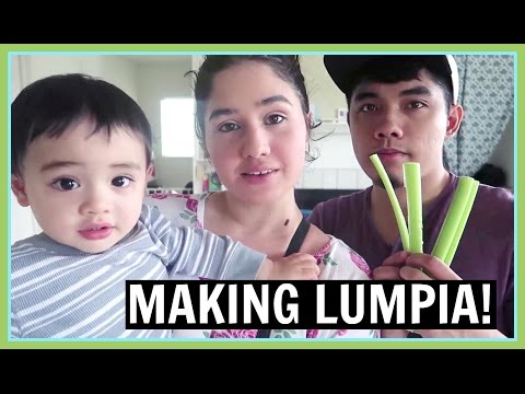 HOW TO MAKE LUMPIA!