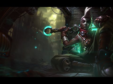 League of Legends EKKO Login Theme
