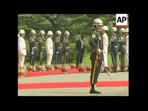 Guatemalan president's visit to Taiwan