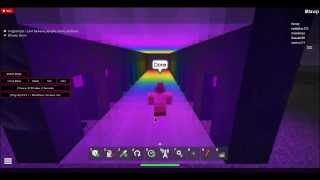 Building a Rainbow River On Roblox