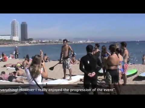Environmental Beach Route in Barcelona