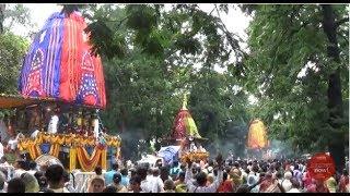 'Ulta Rath' - A Detailed Video Of The Chariots On Return Journey | ISKCON Kolkata Rath Yatra 2017