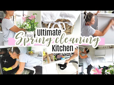 SPRING CLEAN WITH ME 2020 | DECLUTTER + ORGANIZE | SPEED CLEANING MOTIVATION | 2020 SPRING CLEANING