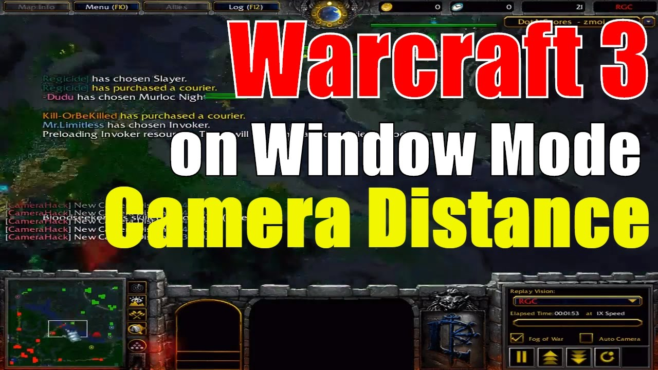 How to play warcraft 3 on window mode and change camera distance how to play warcraft 3 on window mode and change camera distance gumiabroncs Choice Image