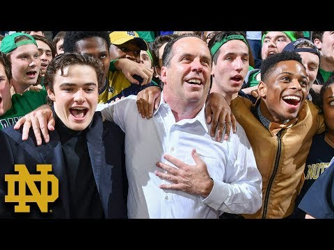 Mike Brey Building Basketball Pedigree At Notre Dame