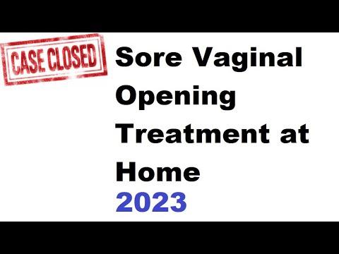 vagina help sore