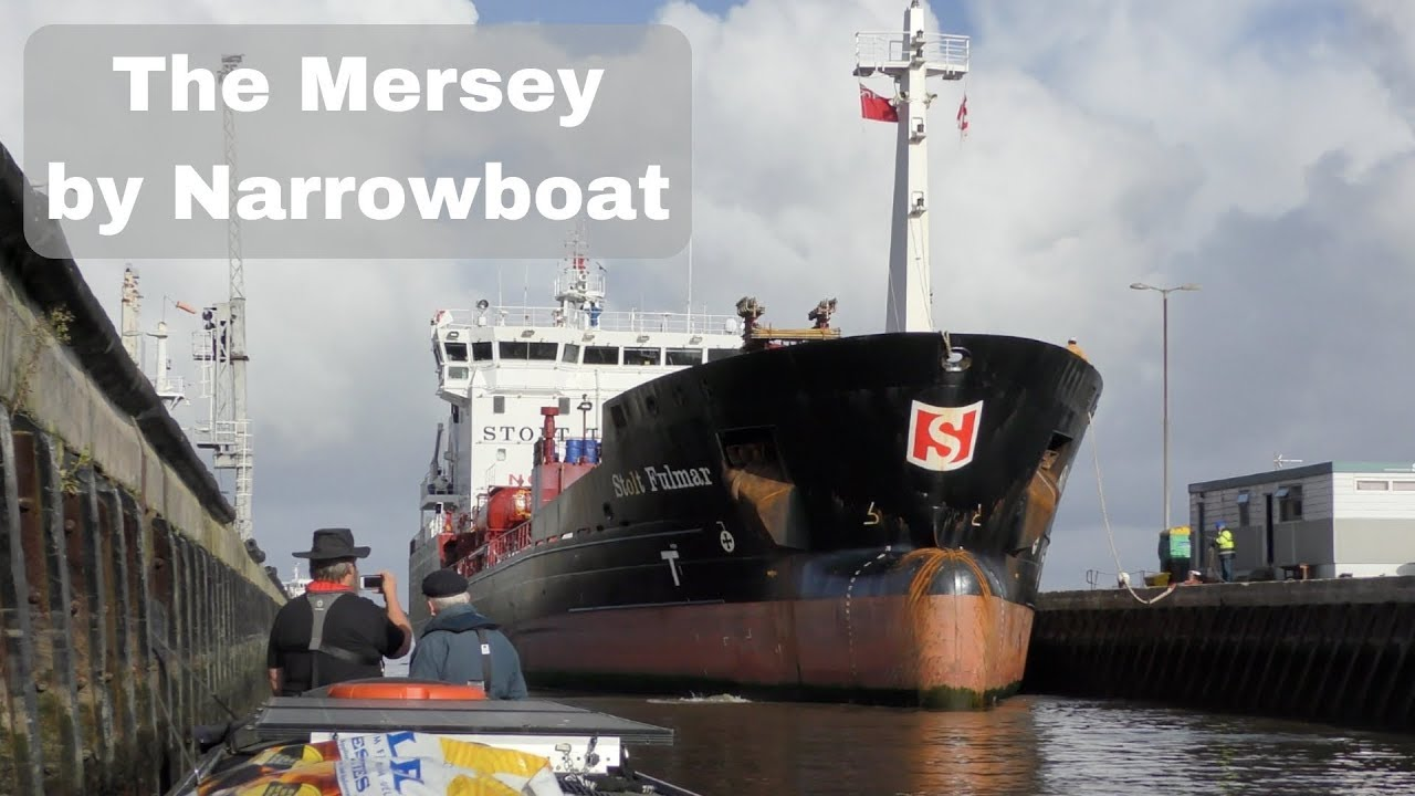 The River Mersey by Narrowboat - Liverpool to Ellesmere Port