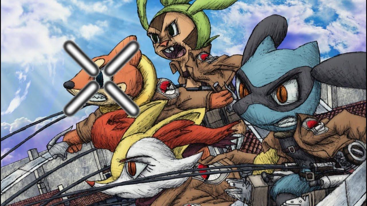 Attack On Titan Pokemon Doublade Pokemon Killcam Montag...