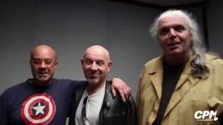 Silvio Pozzoli, Moreno Ferrara e Mario Corvini @ CPM Music Institute