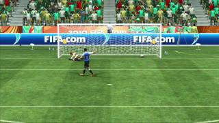 2010 FIFA World Cup™ Tutorial - Penalty Kick Taking Basics