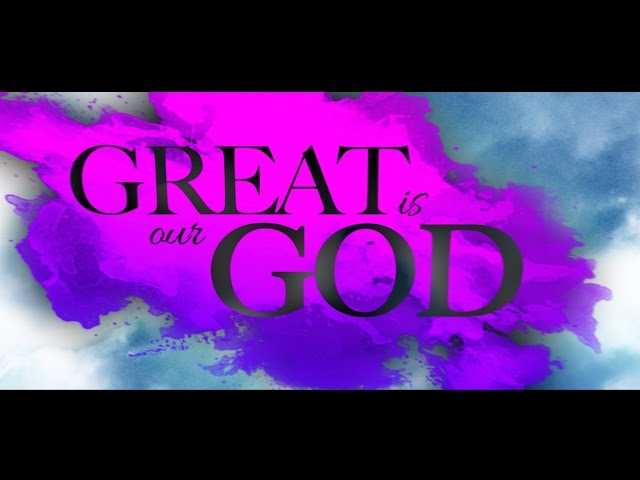 Plumb - GREAT IS OUR GOD (Official Lyric Video)