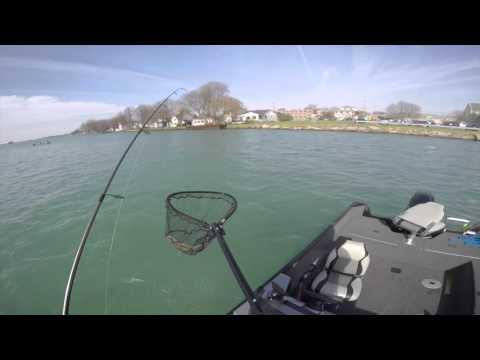 2016 April Walleye Fishing- St. Clair River
