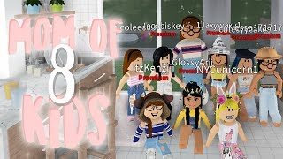 mom of 8 KIDS ♡ | ft. FANS |  bloxburg roleplay | alixia