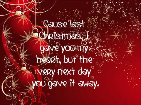 Taylor Swift: Last Christmas Lyrics