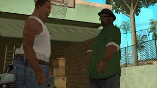 GTA San Andreas - Fat CJ - Mission #16 - Wrong Side Of The Tracks (1080p)