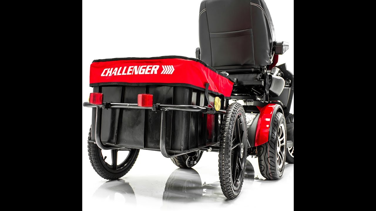 Challenger Scooter Trailer For Pride Electric Scooter Only