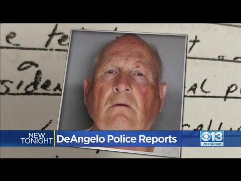 Joseph DeAngelo Police Reports Released