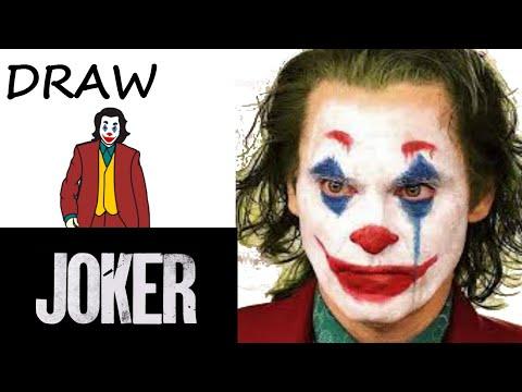 draw-joker-joaquin-phoenix- -step-by-step-lessons-kids- -easy-draw-toy-art-tuto-dessin-#joker