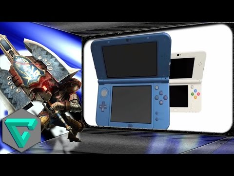 Monster Hunter 4 Ultimate funcionará mejor en New Nintendo 3DS