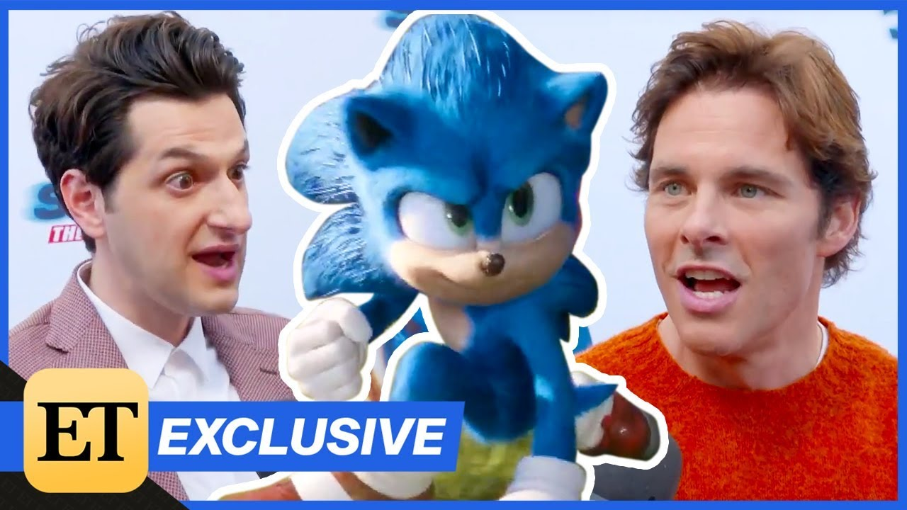 Sonic the Hedgehog Cast REACTS to Character Redesign Exclusive