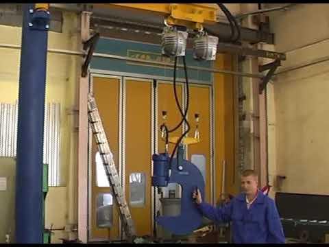 видео: Подвесная скоба для клепки