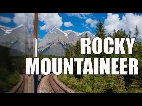 Rocky Mountaineer Train Journey - All Aboard From Vancouver To Banff