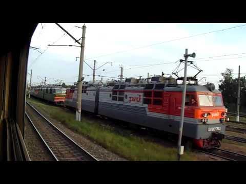 Станция Рыбное-Сортировочное Моск.жд, с окна поезда №392У Москва — Челябинск