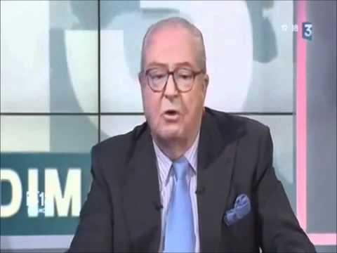 Marine Le Pen - Jean-Marie Le Pen parle ouvertement du groupe Bilderberg.