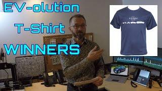 EV-olution T Shirt Winners!