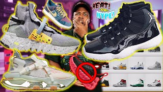 WTF ARE THESE! Fire Upcoming 2020 Sneaker Releases! $500 TRASH, JORDAN 11 ANNIVERSARY, SPACE HIPPIE!