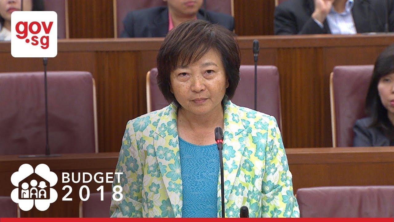 Mp Lee Bee Wah On Budget 2018 Youtube