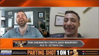 Yoni Sherbatov talks ACB debut Oct 14, Zach Makovsky matchup and TUF 24 Experience