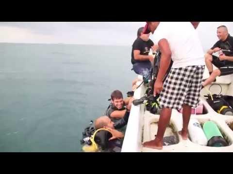 Buceando en Boca del Río Veracruz