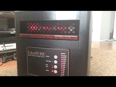 EdenPure Infrared Zone Heater Unboxing