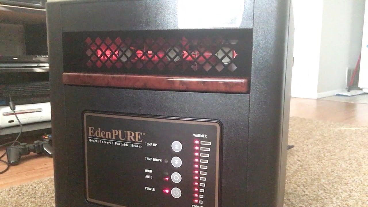 EdenPure Infrared Zone Heater Unboxing - YouTube