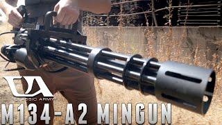 The M134-A2 Minigun from Classic Army [The Gun Corner] Airsoft Evike.com