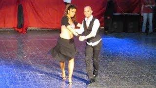 Junín Salsa Congress 2012 ~ Ataca y La Alemana (Baby, Baby)