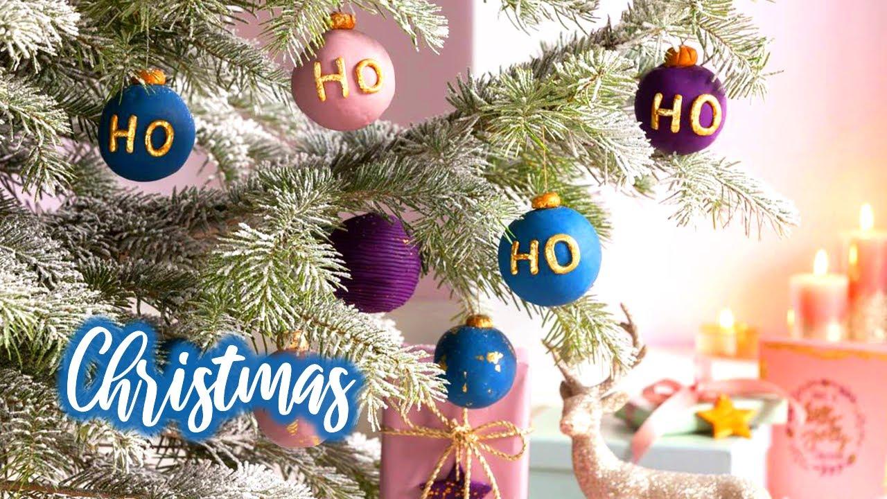 Réalisez vos propres Boules de Noël en FIMO SOFT ! 🎄