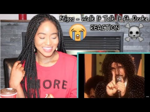 Migos - Walk It Talk It ft Drake  REACTION