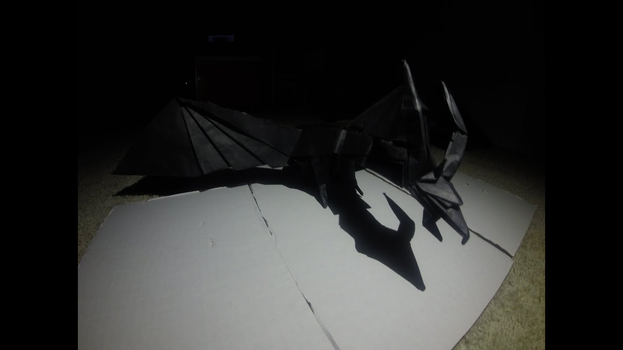 Origami Darkness Dragon Timelapse - YouTube - photo#45