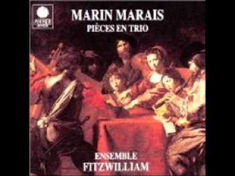 Marin Marais Pieces en Trio Suite en sib