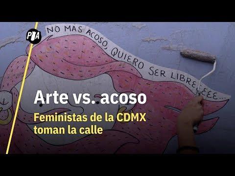 Arte contra el acoso: grafiteras feministas toman la calle