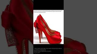 Video HIGH HEEL SHOES IS BAD FOR A BORN AGAIN CHRISTIAN download MP3, 3GP, MP4, WEBM, AVI, FLV Agustus 2018