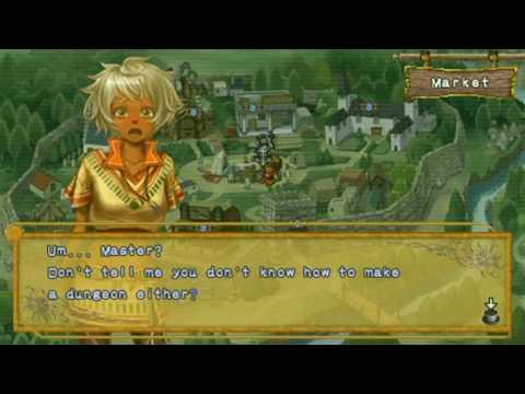 Dungeon Maker II: The Hidden War Game Sample - PSP