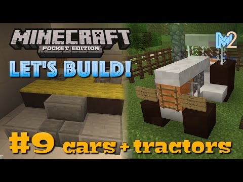 how to build a lift in minecraft pe