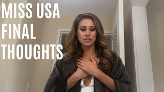 Miss USA 2018 | Post Finale Confessional