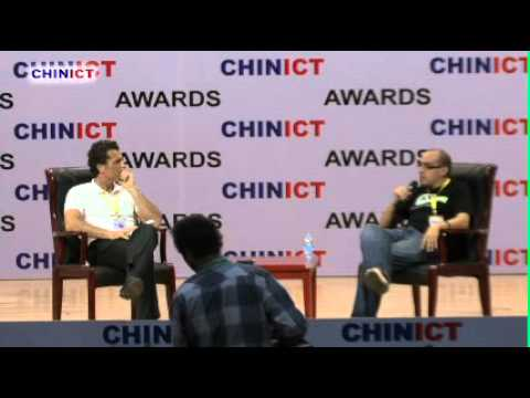 500Startups' Founder Dave McClure Speaks at the 8th CHINICT Conference in Beijing.