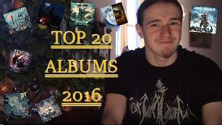 TOP 20 Albums 2016